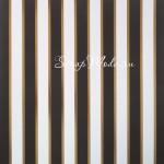 Бумага односторонняя с фольгированием Темные полосы, размер 30,5 х 30,см, 180 г/м, АртУзор, BU001850