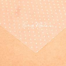 Ацетатный лист Горошек, размер 20х20см, 300 г/м, АртУзор, BU001876