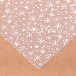 Ацетатный лист Снежная пора, размер 15,5х15,5см, 300 г/м, АртУзор, BU001879