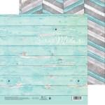 Бумага двусторонняя Деревянный узор, размер 20х20см, 180 г/м, АртУзор, BU001915