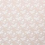 Калька декоративная Бабочки, нанесение белое, размер 30х30см, 80 г/м, АртУзор, BU001947
