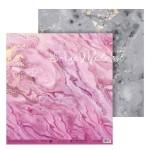 Бумага двусторонняя Натуральный камень, размер 30,5х32 см, 180 г/м, Арт Узор, BU001961