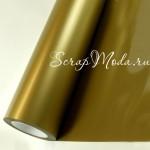 Виниловая пленка Золото, размер 25x25 мм., BU001969