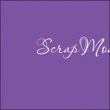 Виниловая самоклеющаяся пленка, цвет: Фиолетовая, матовая, размер 25x25 см., Идеально подходит для плоттеров. BU001977