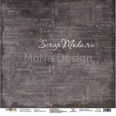 "Лист односторонний К доске ""Учат в школе"", 305х305мм 190гр/м, Mona Design, BU002009"
