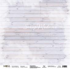 "Лист односторонний За партой ""Учат в школе"", 305х305мм 190гр/м, Mona Design, BU002010"