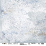 "Лист односторонний Пальцем по стеклу ""Учат в школе"", 305х305мм 190гр/м, Mona Design, BU002012"