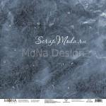 Лист односторонний Школьная доска - School, 305х305мм 190гр/м, Mona Design, BU002019