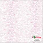 Ацетатный лист Amy Tan Stay Sweet On , 30,5x30,5 см., прозрачный лист с розовым золотым фольгированием. American Crafts, BU002095