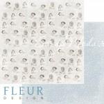 Лист бумаги двусторонний Моменты, коллекция Наш малыш Мальчик, 30,5х30,5 см, плотность 190 гр, Fleur design. BU002103