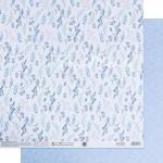 Бумага двусторонняя Утренняя свежесть, размер 30,5х32 см, 180 г/м, Арт Узор, BU002151