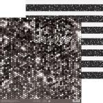 Бумага двусторонняя Сияние ночи, размер 30,5х32 см, 180 г/м, Арт Узор, BU002195