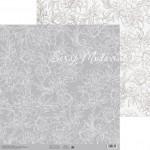 Бумага двусторонняя  Цветочные кружева, размер 30,5х32 см, 180 г/м, Арт Узор, BU002206