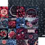 Бумага двусторонняя Вкусные рецепты, размер 30,5х32 см, 180 г/м, Арт Узор, BU002228