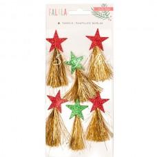 Декоративные подвески звезды Falala,В наборе 6 штук, Crate Paper DA000065