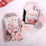 Шильдик-шейкер с блестками «My beautiful life», набор для создания, 11×15 см, Арт Узор, DA000230