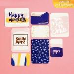 """Набор карточек для творчества из коллекции """"Happy moments"""", с золотым фольгированием, 8 шт. АртУзор, DA000238"""