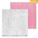 """Бумага двусторонняя """"Вязаный узор"""", размер 30,5х30,5 см, 180 г/м, АртУзор, DA000331"""
