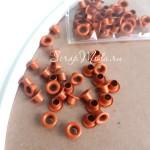 Люверсы Mini Оранжевые, 30 шт., 3 мм., DA000365