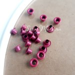 Люверсы Mini Малиновые, 20 шт., 3 мм., DA000366