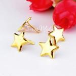 Брадс Star, золото, 10 шт. 14 мм, Creative Impressions, DA000373