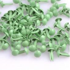 Брадс светло-Зелёный, длина 9 мм., шляпка 4 мм, 20 шт., DA000492