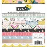 Набор бумаги Bloom, размер 15x15 см., в наборе 36 односторонних листа, Crate Paper, DA000672