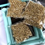 Камушки для шейкера, цвет:золото, размер 1 и 2 мм., 10-15 гр. DA000729