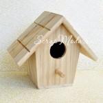 Скворечник 3D, деревянный № 2 размер 130x155 мм., толщина 90 мм., цена за 1 шт., DE000095. Darice