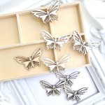 Деревянное украшение-Бабочка, размер 40х30 мм., цена за 1 шт.,  Prima Marketing. DE000140