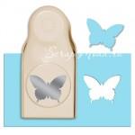 Дырокол Бабочка Country Butterfly, Рекомендуется использовать бумагу плотностью не более 180 гр/м2. 55 мм., Martha Stewart.  DM000162