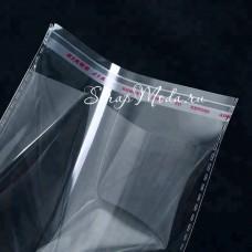 Пакет БОПП с клеевым клапаном 35х35х4 см, плотность 30мкм, HR000115