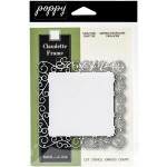 Нож для вырубки Claudette Frame, 1046, размер 105х105 мм., Poppy stamps, IN000345