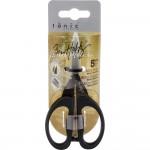 Ножницы Mini с чехлом,  размер 12x3 см, лезвие - 4,5 см. Tim Holtz  IN000402