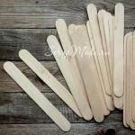 Деревянный шпатель для нанесения текстурных паст, размер 140х16 мм.,  IN000404
