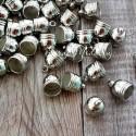 Фурнитура Колпачек для кисточки, металлический, серебро, цена за 1 шт., IN000417