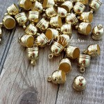 Фурнитура Колпачек для кисточки,, металлический, золото, цена за 1 шт., IN000418