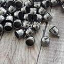 Фурнитура Колпачек для кисточки,, металлический, тёмное серебро, цена за 1 шт., IN000419