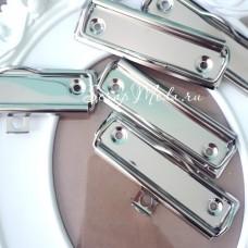 Зажим для планшета, цвет серебро, размер 100х30 мм., IN000516