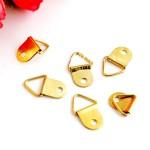 Держатель для лент, золото, размер 21х13 мм., цена за 1 шт., IN000542