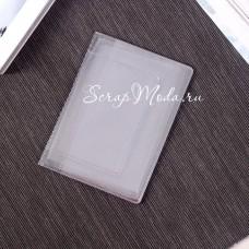 Файл для автодокументов, прозрачный, Средний, 100 мкм, размер 92х125мм., цена за 1 шт., IN000936