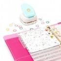 Дырокол для создания отверстий-упрочнителей из любой бумаги.  Диаметр - 0,6 см, We R Memory Keepers. IN000620