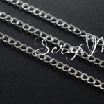 Цепочка со звеньями, Серебро, размер 6,5х3,5мм, толщина 1 мм, цена за 50 см., IN000696