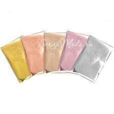 Фольга в листах для Foil Quill от We R Memory Keepers, Mix золото, 10x15 см, 30 шт., IN000715