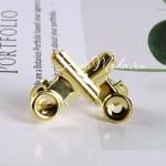 Зажим Золотой, размер 22х23 мм., цена за 1 шт. LI000348
