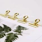 Зажим Золотой, размер 22х23 мм., цена за 1 шт. IN000741
