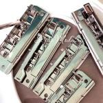 Зажим металлический для планшета-Прижимной механизм (клипборд), цвет:серебро, размер 100х30 мм., IN000783