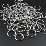 Колечко соединительное, серебро, размер 8 мм., цена за 1 шт., IN000798