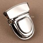 Застёжка для сумки, серебро, размер 40х30 мм.,цена за 1 шт., IN000911