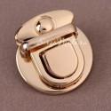 Застёжка для сумки, серебро, размер 30х30 мм.,цена за 1 шт., IN000912